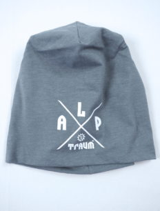 Beanie Jersey Adventure Grey