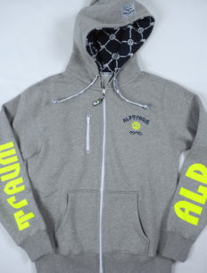 Men Sweat Basecamp Grey Yellow