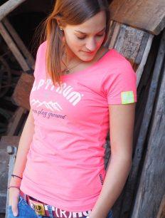Women Funktionsshirt Sunset Pink