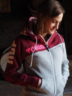 Women Sweat Hill Bordeaux Grey