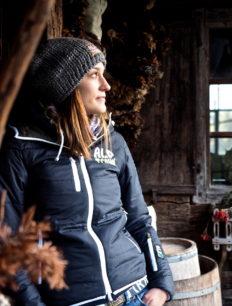 Women Primaloft Jacke Olive Black