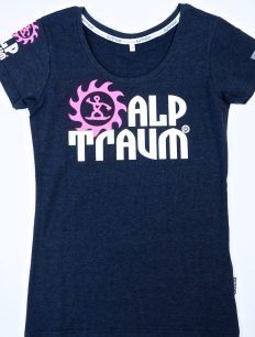 Women T-Shirt Trail Navy