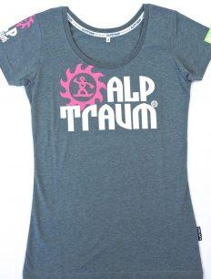 Women Funktionsshirt Trail Grey