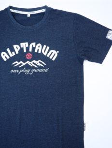 Men T-Shirt Backcountry Navy