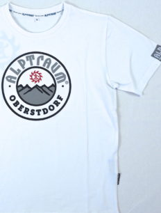 Men T-Shirt Mountain White