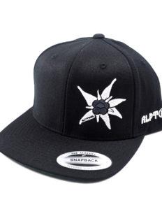 Snapback Cap Edelweiß Black