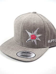 Snapback Cap Edelweiß Grey Pink