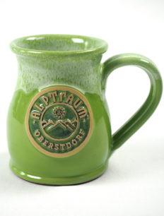 Handgemachte Tasse Mountain Brightgreen