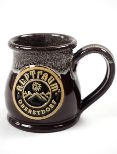 Handgemachte Tasse Mountain Chocolatebrown