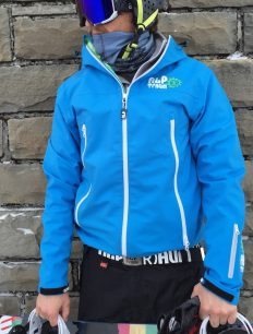 Hardshell Jacket Superjacket Lightblue