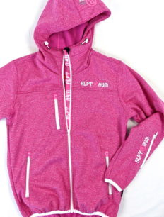 Woman Softshell New Rider Pinkmillee
