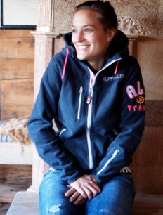 Woman Fleece Shell Lodge Navy