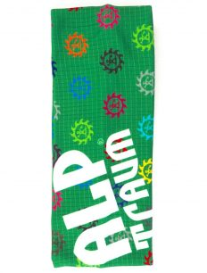 Headband Logo Bunt Green