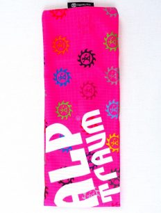 Headband Logo Bunt Pink