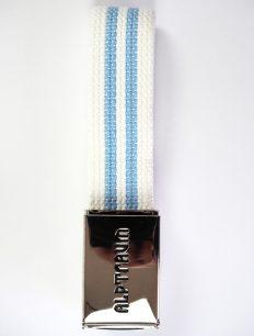 Clip Gürtel White Blue