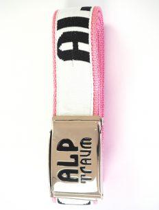 Belt Rider White Pink