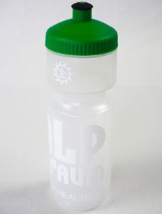 Radflasche Transparent Green