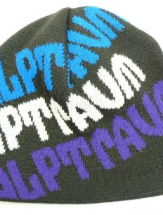 Beanie Teamrider Brown Lila Blue