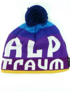Beanie Lucky Lila Yellow