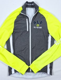 Funktionsjacke Unisex Team Grey-Neon
