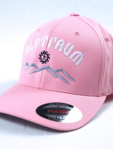 flexfit cap sunset rosa