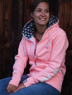 Woman Sweatjacke BASECAMP peach