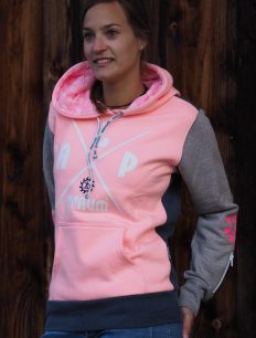 Woman Sweat ADVENTURE 3color peach navy