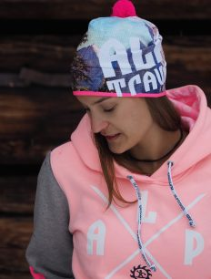 Woman Sweat Adventure 3-Color peach navy grey Funktionsmütze Waldgeist