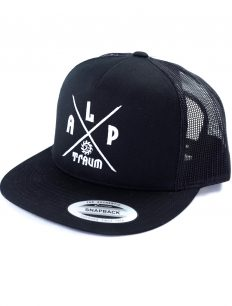 mesh cap Adventure black