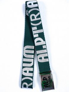 belt Rider darkgreen silver