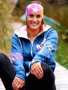 Headband Stars bunt Woman Sweatjacke ensigniablue