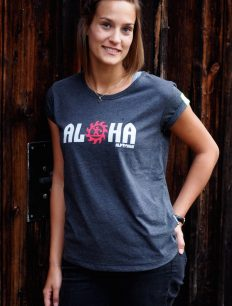 Woman Wide Shirt Aloha Blackmillee