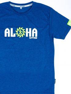 Men T-Shirt Aloha ensigniablue