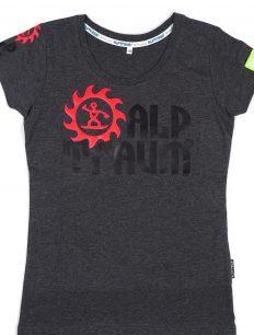 woman t-shirt TRAIL blackmillee