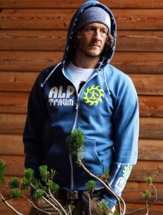 Men Sweatjacke Straight ensigniablue