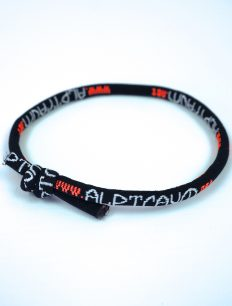 Armband Wish black neonorange