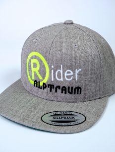 snapback Rider heathergrey