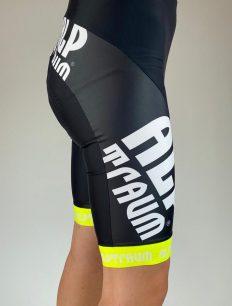 bike pant HiFi ohne träger black-yellow
