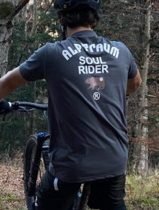 men t-shirt SOUL RIDER asphalt mtb short Hifi