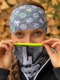 headband-cut-At-flower-grey-Tube-thin-Holz